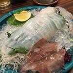 九州 熱中屋 - イカも、新鮮だね〜