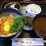 飛騨 - うに丼(定食)\1,700