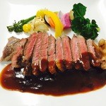 ナチュラルキッチン はなか - 北海道産 牛サーロインのソテー