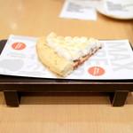 MAX BRENNER CHOCOLATE BAR - チョコレートチャンク ピザ スライス (420円) '16 1月上旬