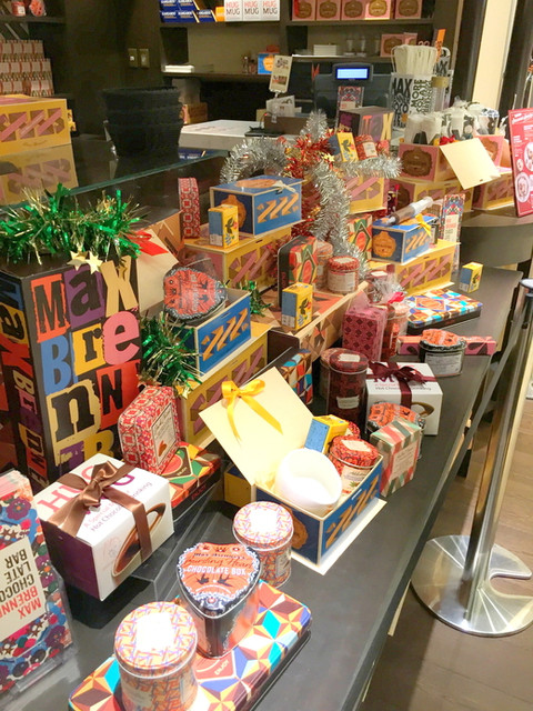 MAX BRENNER CHOCOLATE BAR LUCUA osaka -  '16 1月上旬