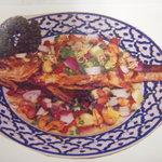 ライカノ - 揚げ魚のさっぱりスパイシーソースがけ ¥1550