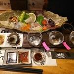46391101 - 日本酒4種呑み比べです