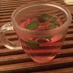 ビオ オジヤンカフェ - ザクロ茶(hot) 甘くて癒された