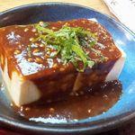 46393225 - そば味噌豆腐430円