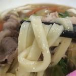 うどん商人つづみ屋 - この店の麺の感じ、大好きなんです^^