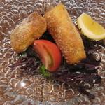 46397119 - 前菜 太刀魚のカツレツ