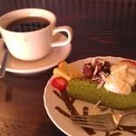 46398339 - H27/3ガトーまっちゃ、ブレンドコーヒー