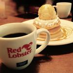 レッドロブスター - レッドロブスターブレンドコーヒー と キャラメルパンケーキ