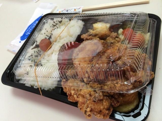 はっぴぃドア - 唐揚げ弁当 490円
