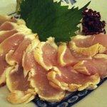 葱鮪屋 - 薩摩地鶏のたたき
