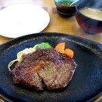 田中屋レストラン - Aランチステーキ!(2016,01/10)