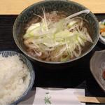 46400445 - 肉豆腐定食 750円