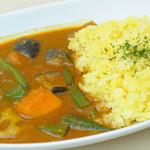マナ キッチン - 野菜カレー