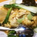 46403359 - 豚肉とキクラゲの玉子炒め 2015.9