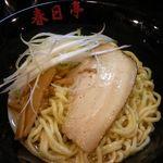 油そば 春日亭 - 油そば(醤油) 500円
