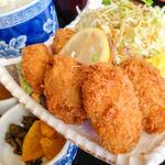 磯よし - 牡蠣フライ定食