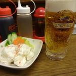 ホワイト餃子 - 一番搾り:494円
