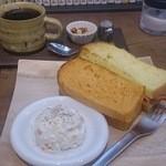 横森珈琲 - サンドイッチ