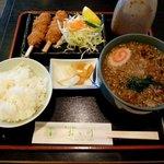 おお川 - 串揚げセット(850円)