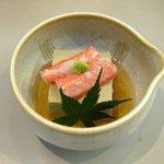 割烹蒲焼 わかな - 蟹味噌豆腐
