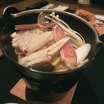 城崎温泉 山本屋 - カニ鍋
