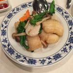 重慶飯店 横浜中華街 新館1F - 白身魚と帆立の塩炒め(^∇^)