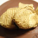 銀座たい焼き 櫻家 - 「厚焼きたい焼き あんこ(210円)」と「薄皮たい焼き とろけるカスタード(190円)」