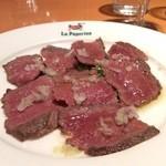 小倉 匠のパスタ ラ・パペリーナ - 仙台牛A4熟成牛