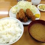 46411944 - カキフライ定食(950円)