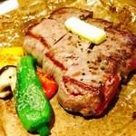 46412877 - 鯨ステーキ♡まるで高級なお肉!!
