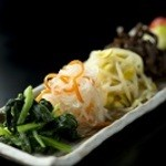 新鮮野菜のナムル