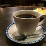 萬屋宗兵衛 - 萬屋ブレンド、深煎りで苦味が強いコーヒーです