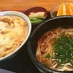四谷朝日屋 - お蕎麦とカツ丼