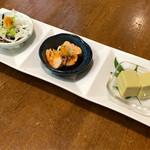 キッチンさし田 - 料理写真:三種の珍品