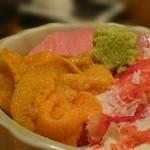 鮨処 竜敏 - ミニ丼