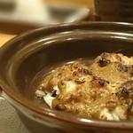 鮨処 竜敏 - カニ身と味噌
