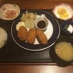 一蔵 - カキフライ定食