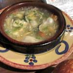 シャティバ - 2016年1月。牡蠣のアヒージョ