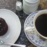 Reve - 料理写真:コーヒーセット(フォンダンショコラ、ブレンドコーヒー)