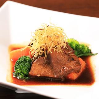 牛タン八丁味噌煮
