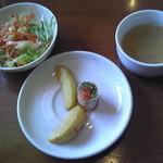 ディープティ - サラダ、前菜、スープ