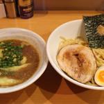 麺屋 すずらん - ●2016 #012 @つけ麺+ワンタンの皮 ¥850