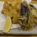 はないち - 目鯛と茄子の天ぷら450円(税別)