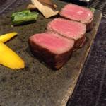 46422157 - 【夕食】ステーキ (各種マース(塩)で)