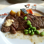 地中海の風 - 料理写真:牛肩ロースステーキ