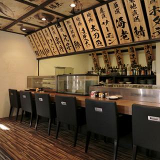 板前が握る本格寿司がお楽しみいただけます!