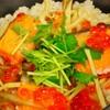 伊右ェ門 - 料理写真:鮭・イクラ釜めし