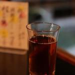 大極殿本舗 - 麦茶も香ばしくておいしい