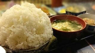 定食の店 牛太郎 - 普通ライス